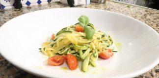 Zucchini Carb Free Pasta Recipe