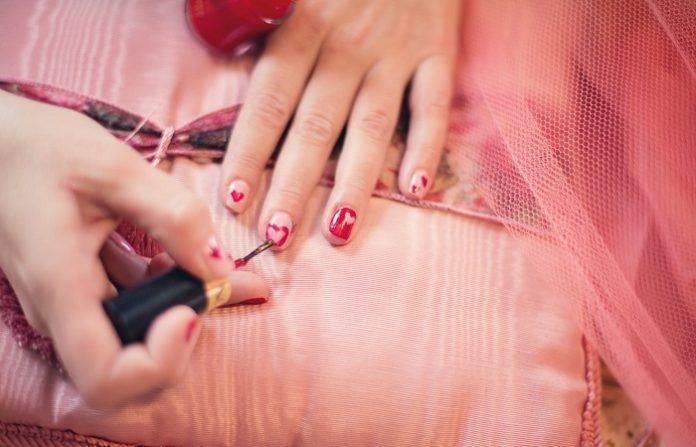 Valentines day super cute nail design ideas
