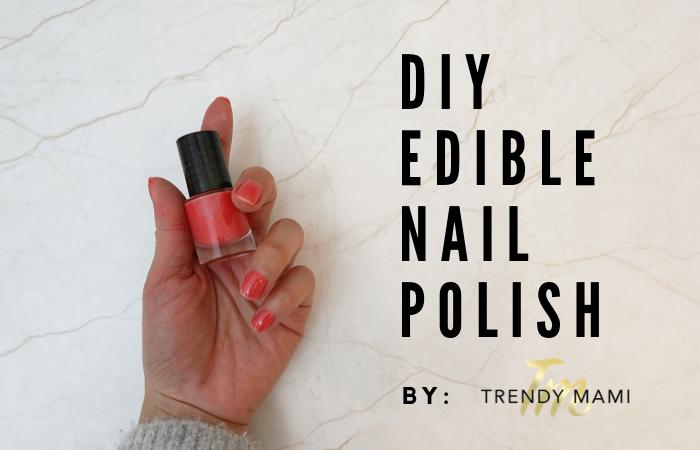Your Kids Will LOVE this DIY Edible Nail Polish Recipe!