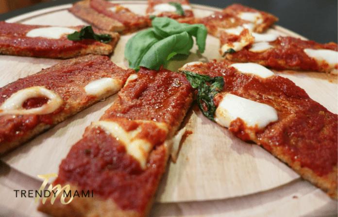 Cauliflower Pizza Crust Pizza Recipe