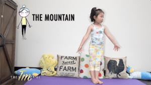 Kids Yoga Mountain Pose