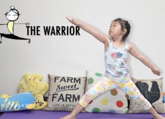 Kids yoga with Amery
