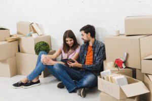 moving checklist - make a moving budget