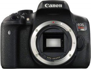 Best Camera for Summer Vacation - Canon EOS Rebel T6i Digital SLR