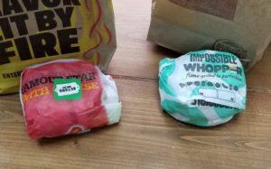 Impossible burger vs. beyond burger challange 4