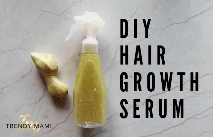 DIY Hair Growth Serum - Grow healthy hair fast