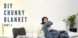Chunky Blanket DIY