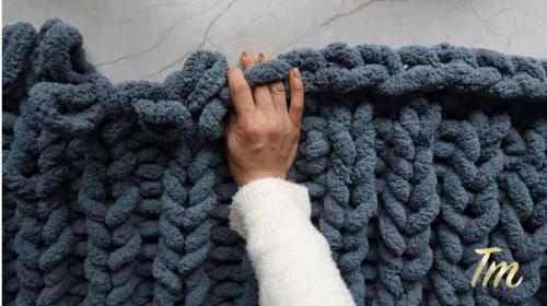 Chunky Blanket DIY 2