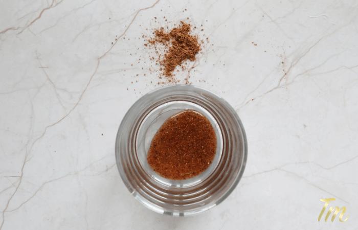 Nutmeg Scrub - Homemade Face Scrub