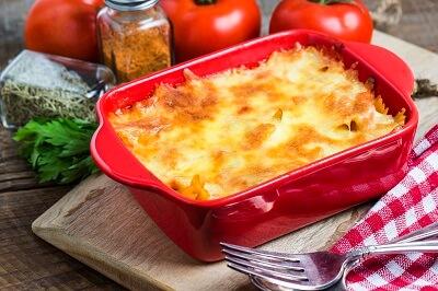 Freezer Meal Recipes, Cheesy Lasagna