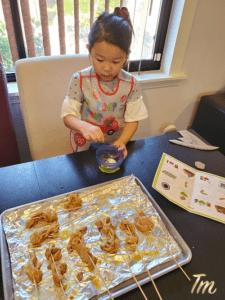Raddish kids, Cooking