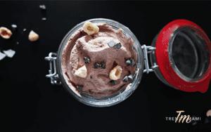 Recipe for vegan ice cream, Chocolate Hazelnut