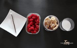 Recipe for vegan ice cream, Ingredients for Raspberry Ripple