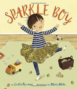 Children's books about diversity, Sparkle Boy