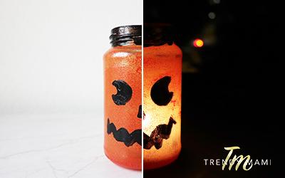 Halloween candle diy
