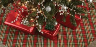 Christmas tree skirt target