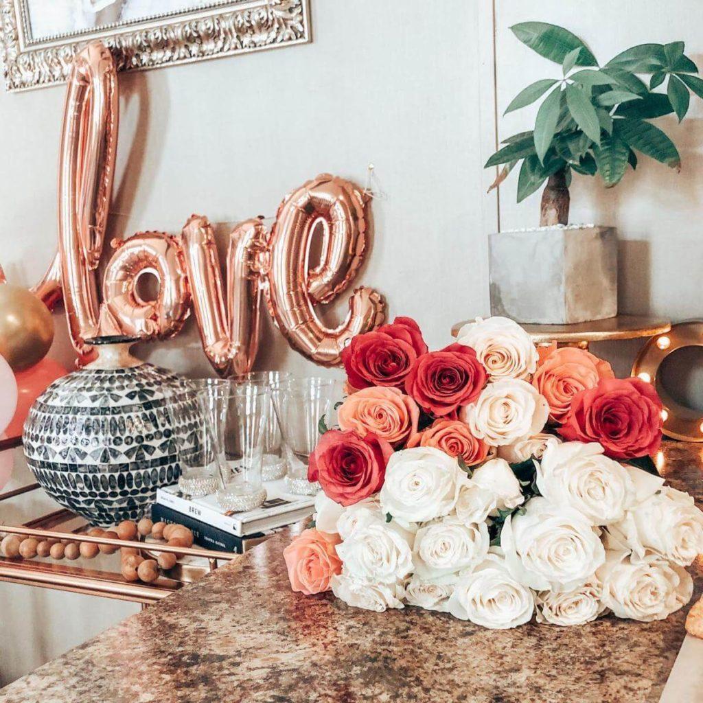 valentine's day photoshoot