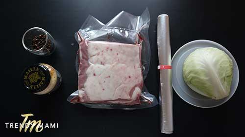 Corned Beef Brisket Ingredients