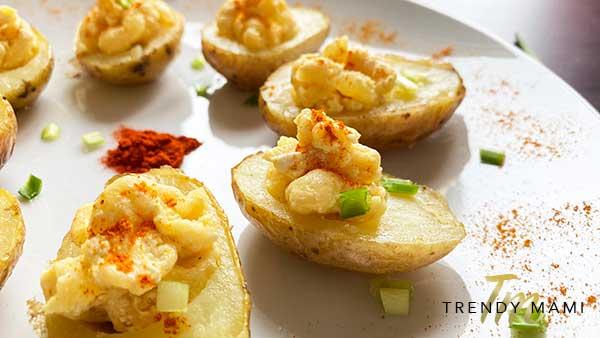 Vegan Deviled Eggs - Deviled Potatoes
